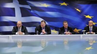 Venizelos confirmó este viernes que los bancos griegos serán recapitaliz...