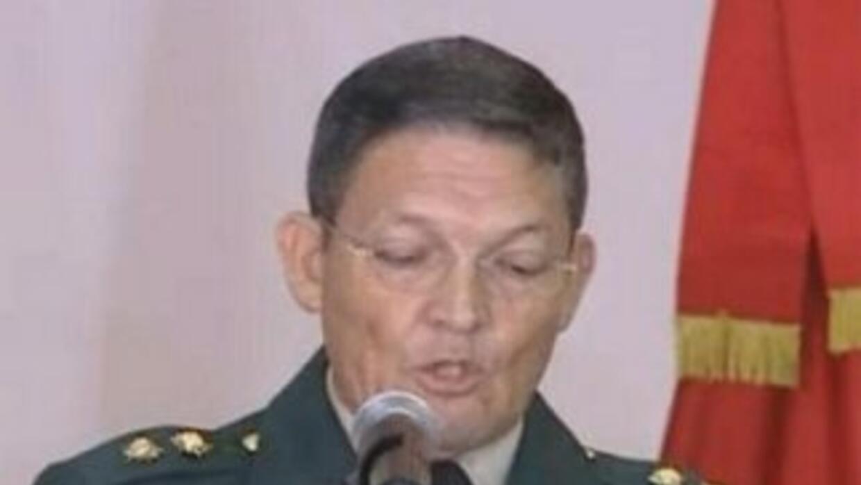 El general colombiano Rubén Darío Alzate.