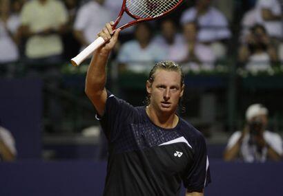 David Nalbandian es el campeón defensor del torneo de Buenos Aires y qui...