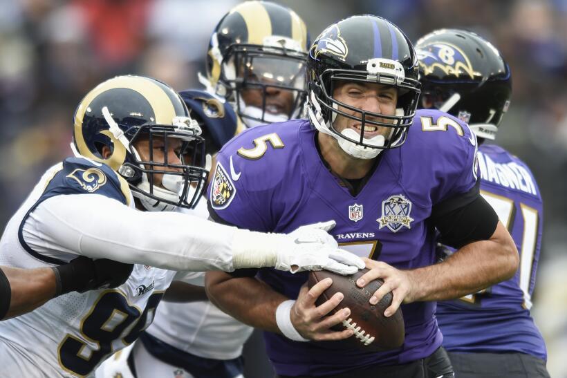 Los Baltimore Ravens vencieron 16 - 13 a St. Louis, en dramática victori...