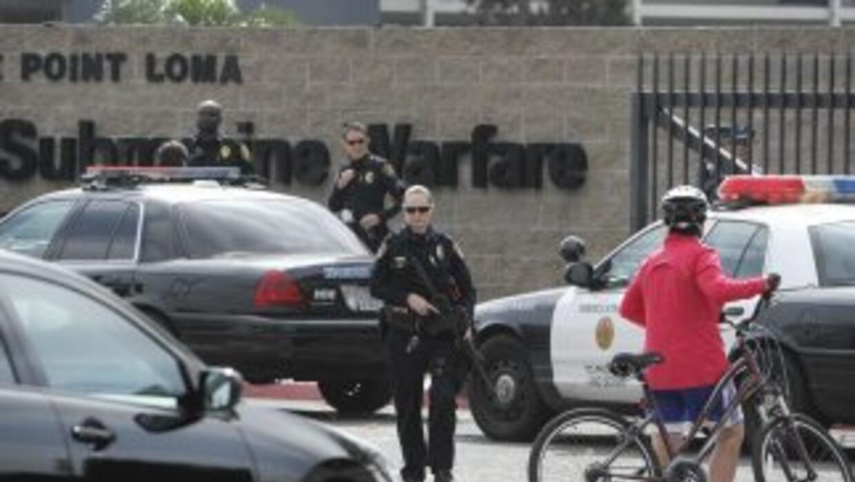 En el operativo participaron militares de la base, la Policía de San Die...