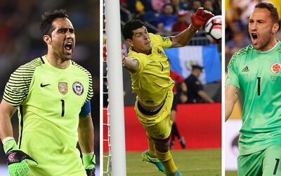 Las tres mejores atajadas de la Copa América Centenario