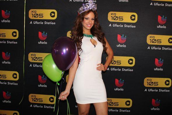 La nueva reina de Nuestra Belleza Latina, la boricua Aleyda Ortiz, está...