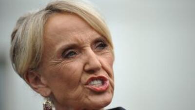 La gobernadora de Arizona, Jan Brewer (republicana) volvió a pedir a la...