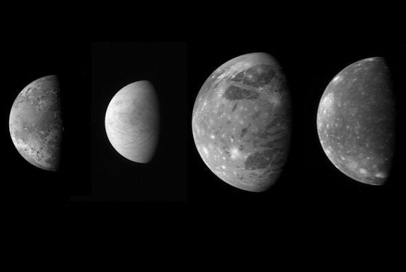 En este camino de Plutón, New Horizons muestra las lunas.