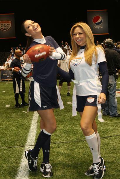 Con la presencia de grandes estrellas de la NFL, Ana Patricia y Claudia...