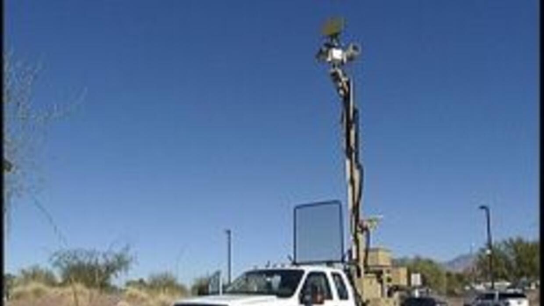 Sistema movil de la patrulla fronteriza