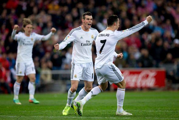 En la segunda parte, el gol no aparecía hasta que Cristiano, quién más s...