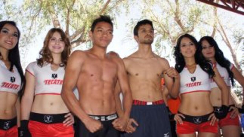 Mijares y Valdez superaron la báscula en Sonora (Foto: KO enterteiment)