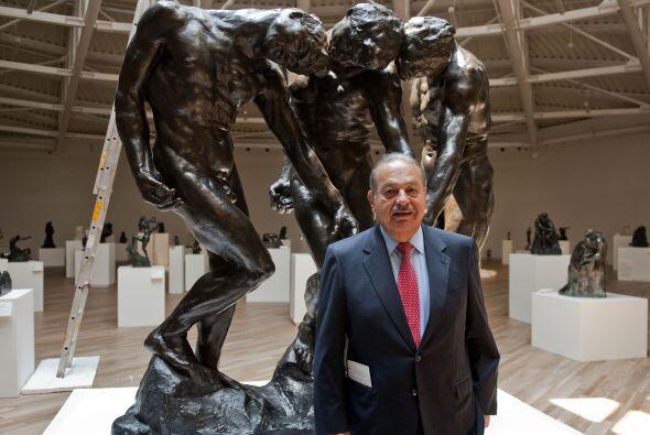 El museo Soumaya es el segundo del empresario. En 1994 inauguró otro en...