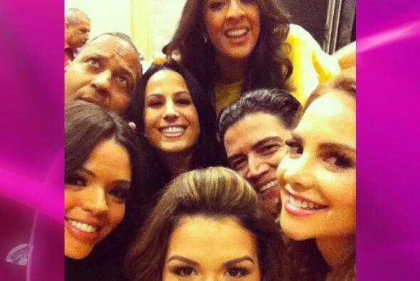 Las personalidad de Univision se encontraron y disfrutaron las 29 horas...