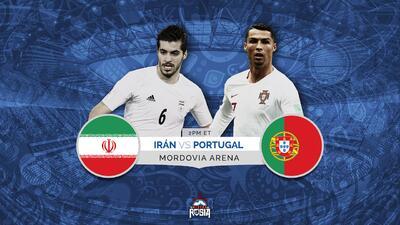 Portugal y Cristiano van por su boleto a octavos ante la sorprendente Irán