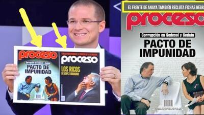 Ricardo Anaya responde tras ser acusado de editar la revista que mostró en el debate