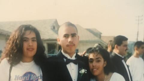 A la edad de 18 años, poco antes de ser detenido por la Polic&iac...
