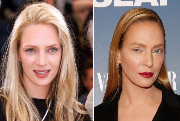 El nuevo rostro de Uma Thurman ha causado revuelo.