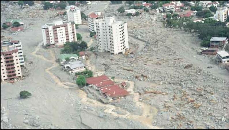 Venezuela bajo el agua