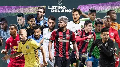 ¡Los nuestros primero! 16 'cracks' de la MLS que compiten por el premio al Latino del Año 2018