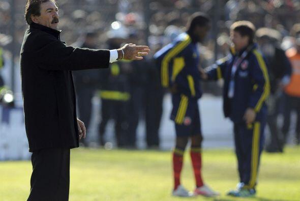 Ricardo La Volpe, fiel a sus ideales, no se tiró a defender el resultado...