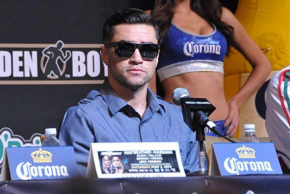 """""""El 3 de mayo voy a dar una gran pelea, ya lo verán"""", dijo breve Molina."""