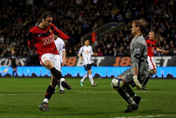 El Manchester United le hizo cuatro al Bolton.