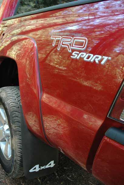 Nuestra versión de prueba era la TRD Sport con tracción 4x4.