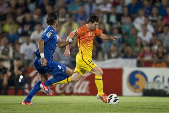 'La Pulga' ni siquiera tuvo que ser titular con el Barcelona en el parti...