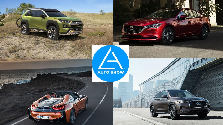 auto show los ángeles 2017