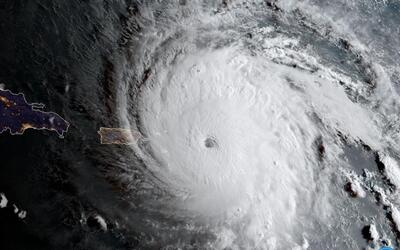 Irma's spectacular eye captured by satellite as it reached the eastern C...
