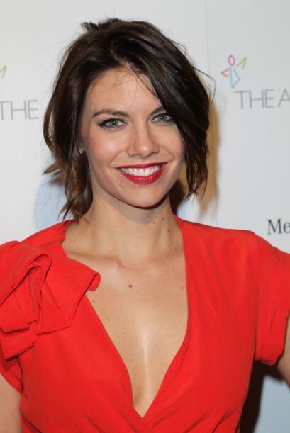 """65. LAUREN COHAN La actriz de 32 años interpreta a Maggie en la serie """"T..."""
