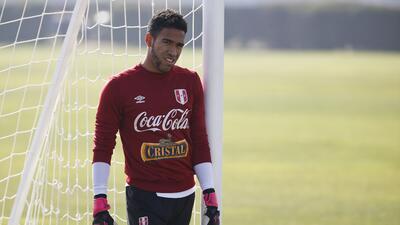 Gallese se reportó con Perú y lamenta no medirse a Keylor Navas en amistoso ante Costa Rica