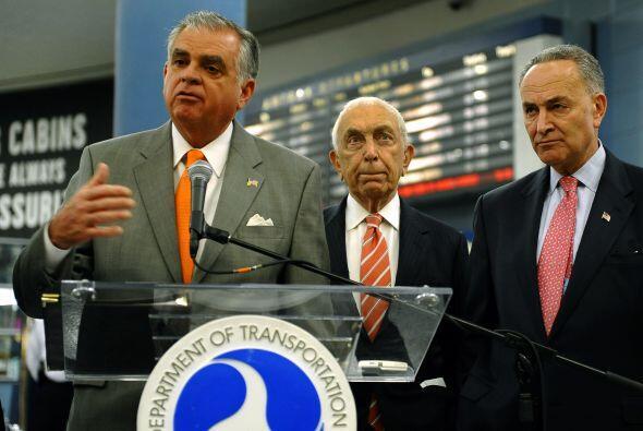 El anuncio, que fue hecho en Penn Station en Manhattan, es parte de un p...