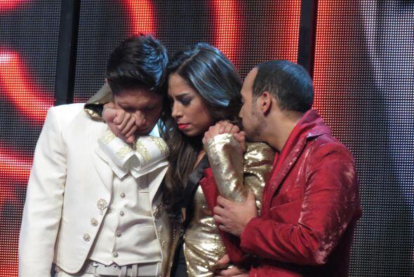 Mientras, Fernando, Virginia y José sufrían en el paredón.