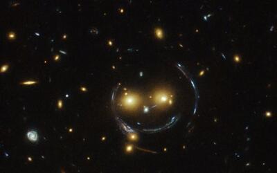 Si te parece que estás viendo una carita feliz en el espacio, tie...