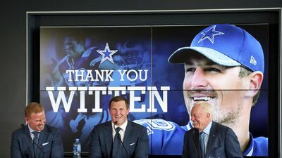 Jason Witten hace oficial su retiro después de 15 temporadas