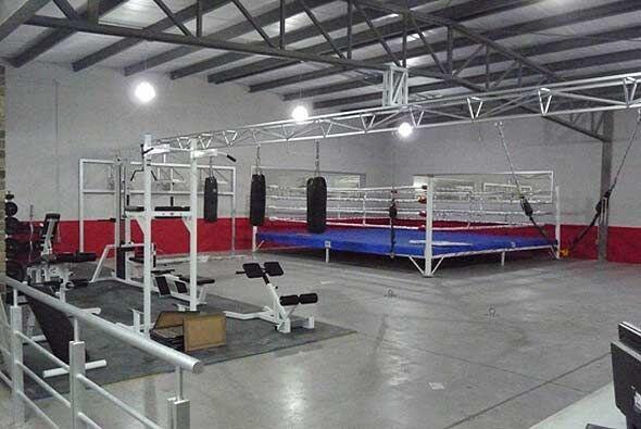 Las instalaciones están perfectamente acondicionadas para entrenar a los...