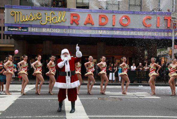 El show de Navidad del Radio City Music Hall es un espectáculo digno de...