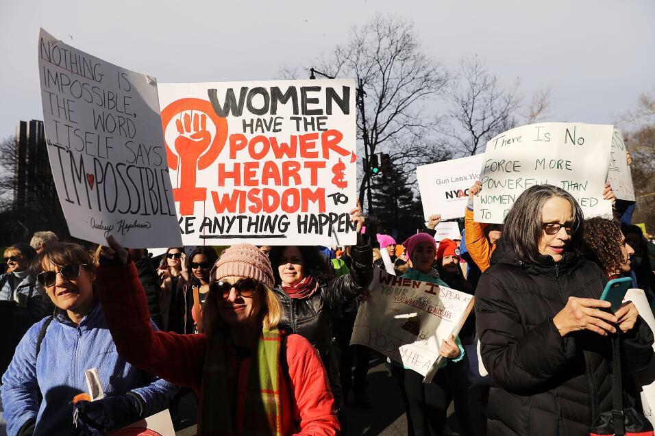 marcha mujeres Sábado