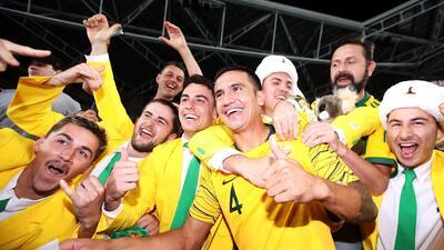 Tim Cahill se despidió de los 'Socceroos' tras 108 partidos defendiendo su playera