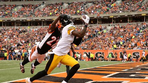 Steelers 33-20 Bengals: Cincinnati, sin Dalton, doblegado por Pittsburgh...