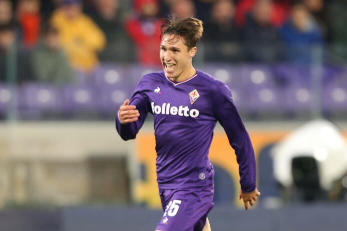 5. Federico Chiesa - Mediocampista (Italia / A.F.C. Fiorentina)