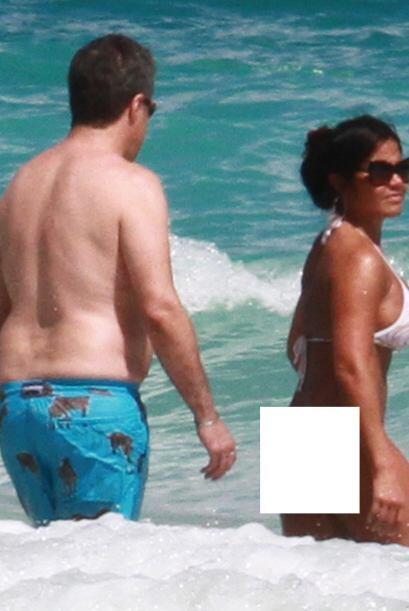 ¡A seguir disfrutando del mar de Miami! Más videos de Chismes aquí.