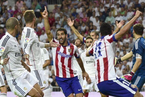 Con este gol, el Atlético dejó las cosas del mismo modo como empezaron....