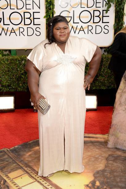 Creemos que Gabourey Sidibe debió optar por un color oscuro en su vestid...