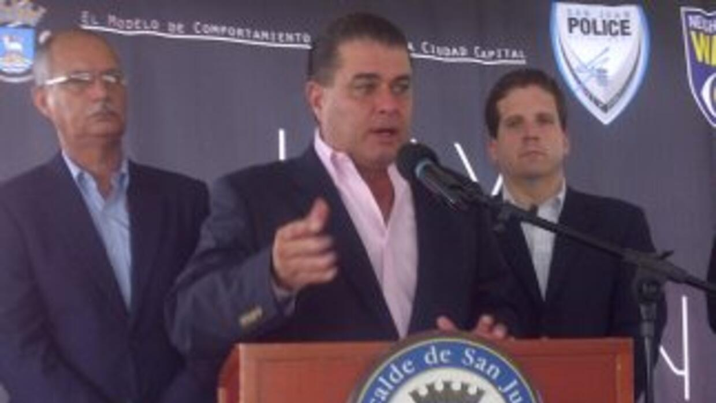 Jorge Santini Padilla, alcalde de San Juan de Puerto Rico.