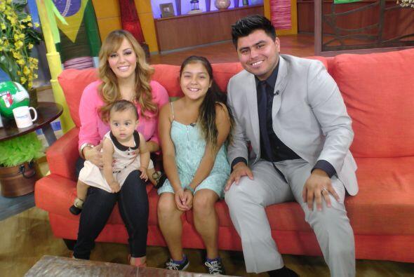 La hija menor de la Dinastía Rivera estuvo de visita en Despierta Améric...
