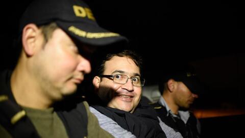 El exgobernador de Veracruz llegó a la prisión de Matamoro...