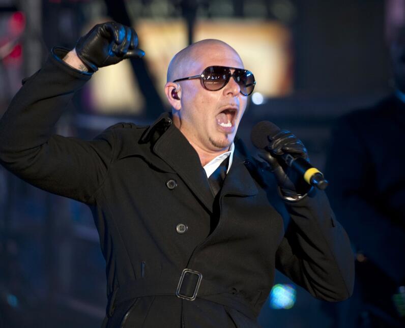El rapero Armando Christian Perez, conocido como 'Pitbull' fue e...