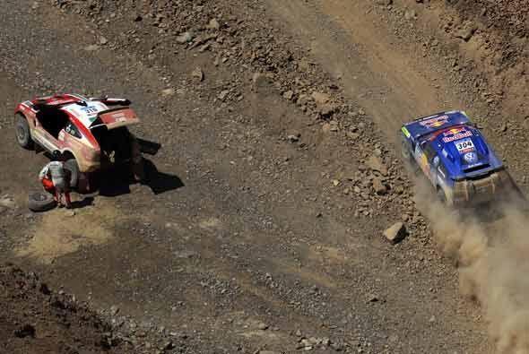 Uno de los problemas principales en un rally como este son las descompos...