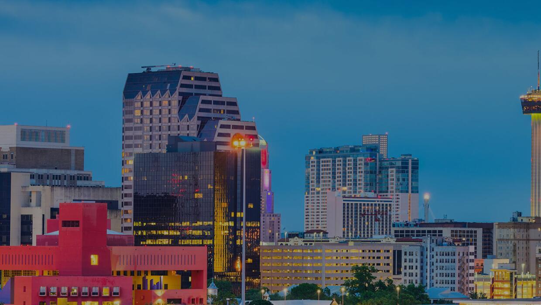 San Antonio Skyline Brightspot Contact Page