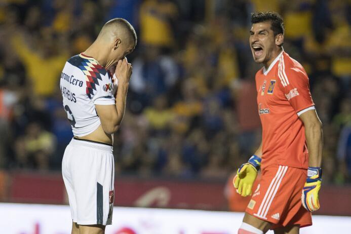 En fotos: ¡Oh là là! Tigres y América empatan con goles franceses matheu...